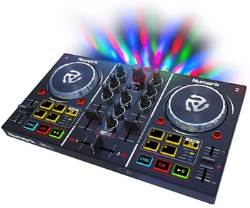 DJ Equipments, Studio and Recordings, Numark, Numark Party Mix DJ Controller with Built-in Sound Card Light Show