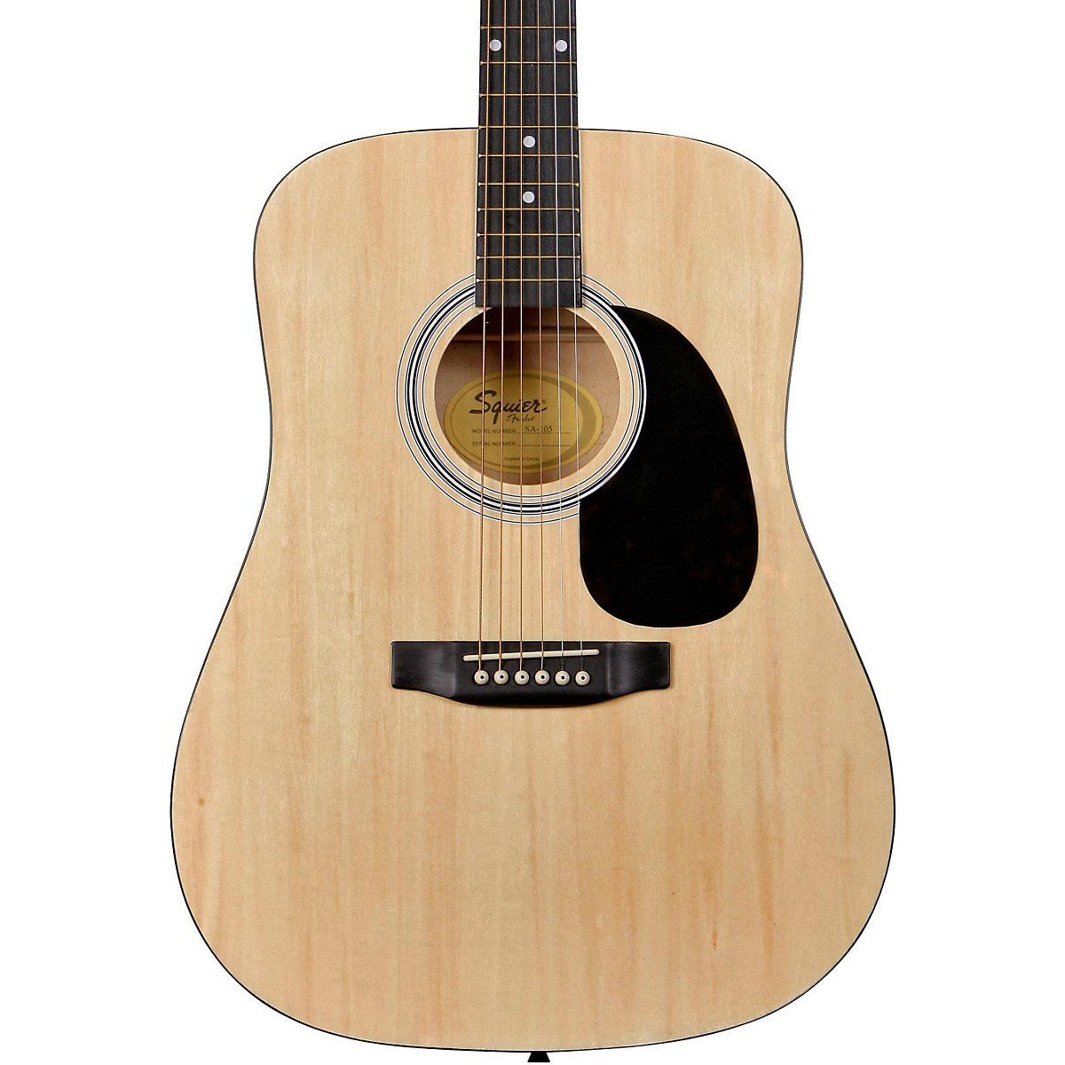 Fender Squier SA-105N Acoustic Guitar, Natural
