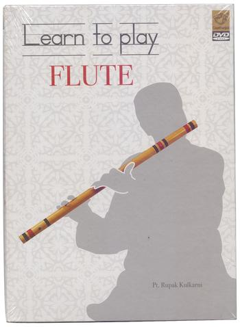 DVD, Educational, Geethanjali, Geethanjali Learn to Play Flute