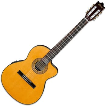 Acoustic Guitar, Guitars, Ibanez, Ibanez Semi Classical Guitar GA5TCE-AM