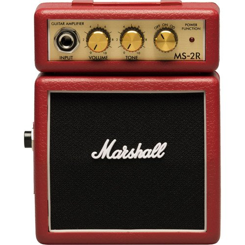 Marshall Amplification MS-2R Red Micro Guitar Amp