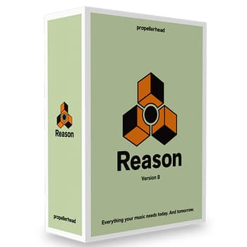 Softwares, Studio and Recordings, Propellerhead, Propellerhead Reason 8 Software
