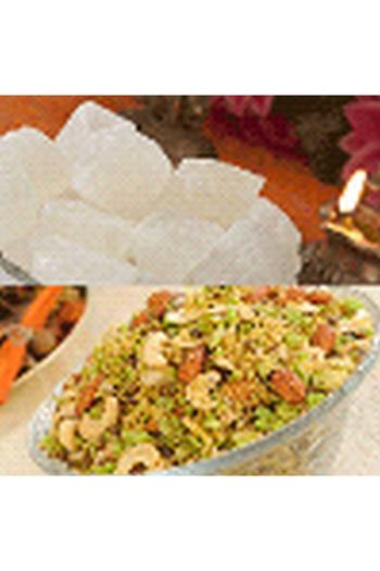 Agra Petha, Sweets and Gifts, Panchi Petha, Dry Petha & Shahi Dalmoth (1KG EACH)