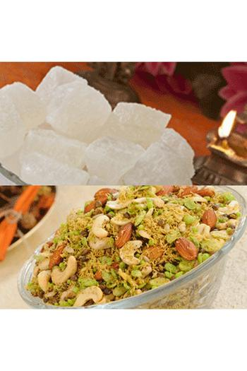 Agra Petha, Sweets and Gifts, Panchi Petha, Dry Petha & Dalmoth (1 KG EACH)