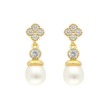 GIFT TO HER, Gifts and Articles, Jpearl, CONTEMPORARY PEARL EARRINGS