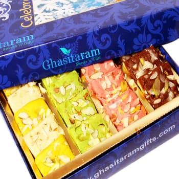 Sweets, Sweets and Gifts, Ghasitaram, Mawa Barfis Box (1000gms) ,  ,
