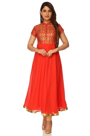 e228040a7f Red Anarkali Suits - Buy Online Red Anarkali Dresses & Gown - Biba
