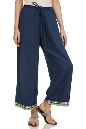 40290a3b80d1 Palazzo Pants - Buy Online Palazzo Pants for Women in India - Biba