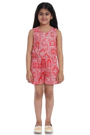 073a70bfc Shop Online for Cotton Jumpsuits for Girls at Biba India