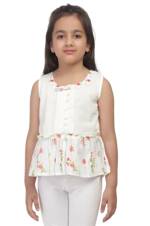a5908cbcce4 Tops for Girls - Buy Stylish Tops for Girls Online in India - Biba