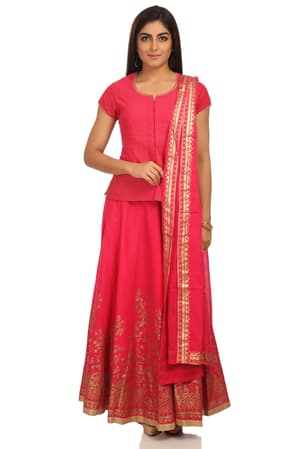 69b81830fdf Biba Pink Suit Sets Collection - Pink Suits for Women Online