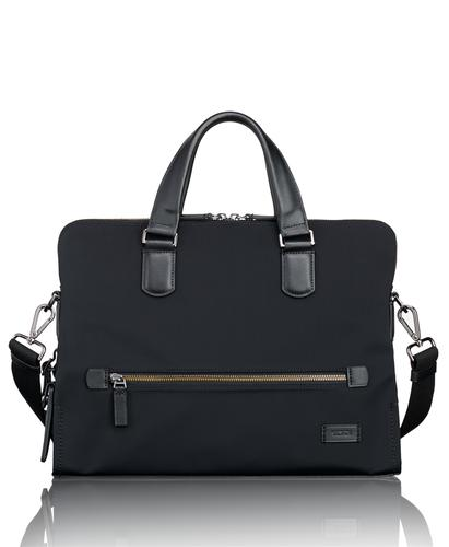 TUMI Singapore Taylor Portfolio Black Brief