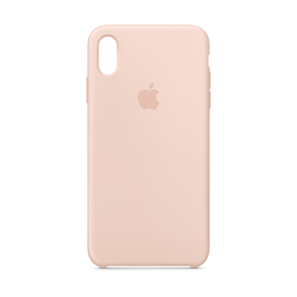 quality design 6ee60 f76e4 iPhone Accessories, iPhone XS Max Silicone Case - Pink Sand