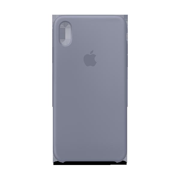 reputable site e4de7 8ac8e iPhone Accessories, iPhone XS Max Silicone Case - Lavender Gray