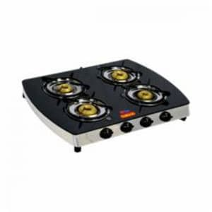 Lpg Stoves, Kitchen Appliances, Home Appliances, Adishwarestore, Kailash, KAILASH LPG GAS STOVE 4BURNER , modern , 4 , brass  , Stainless Steel