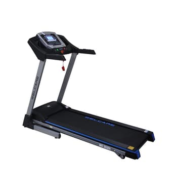 Home Use, Treadmill, Welcare, WC 2525I Motorized Treadmill , 4.5″ LCD window with Blue Backlight , 128 x 42 cm , You can watch your Distance covered, speed, calorie burn, heart rate, and time. It feels good to know you're getting stronger each day. 4.5″ LCD window with Blue Backlight. , 12 Level Motorized , 12 preset programs + 3 user define. , 169.7 x 71.5 x 126.5 cm