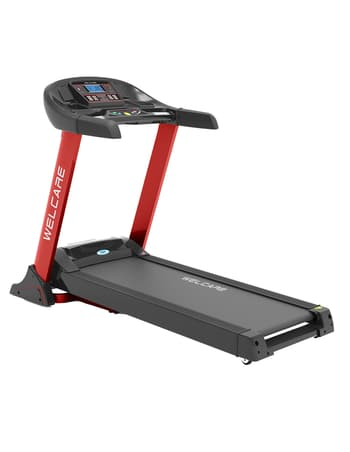 Home Use, Treadmill, Welcare, WC4848 - Autoincline DC Motorized Treadmill , 1380*480 mm , MP3, USB,with wheels for easy moving and foldable , 18 Level auto , 1.0 - 18 Kmph , 1910*800*1400 mm , 5 Hp peak DC , 8 Buit - in programs,24 Manual program body fat