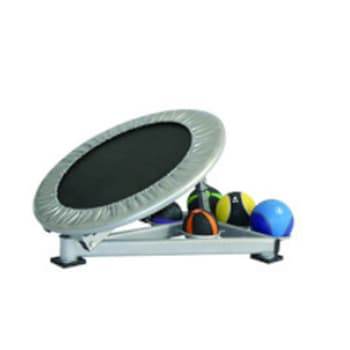 Balance Board, Accessories, Welcare, W1873 Medicine Ball Rebounder , Angle adjustments go from flat to 60 degrees In the flat position, the rebounder can be used for jogging exercises, where the handrail can provide balance and stability, if needed. Comes with built-in storage Shelf for medicine balls. With a 28 inch