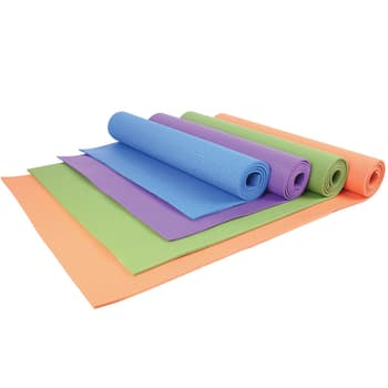 Yoga & Pillates, Accessories, Welcare, W2201 Pvc Yoga Mat 173*61*0.4Cm , Health safe Non-slip Environmentally safe Durable Comfortable