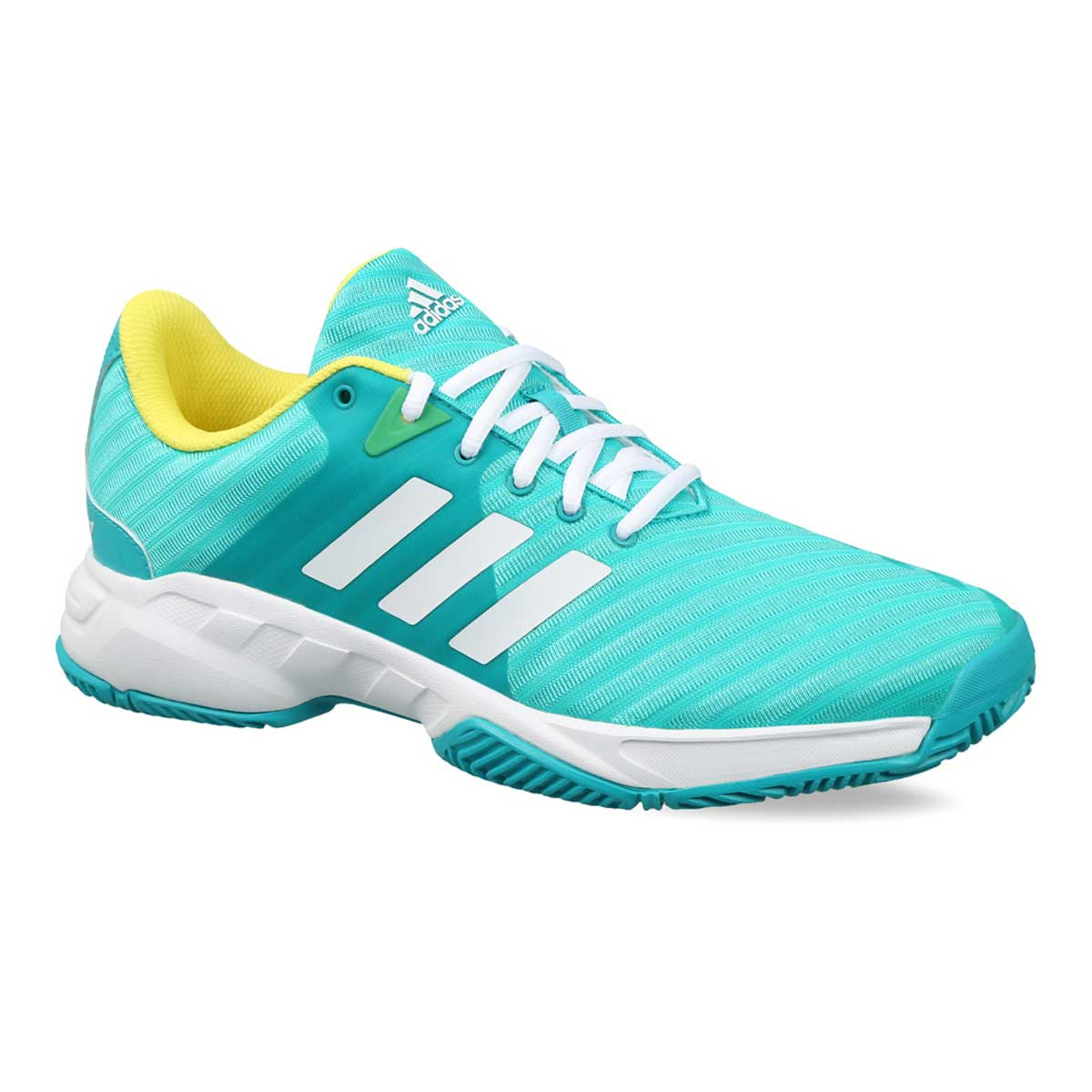 1145d239246344 Buy Adidas Barricade Court 3 Tennis Shoes (Green/White) Online