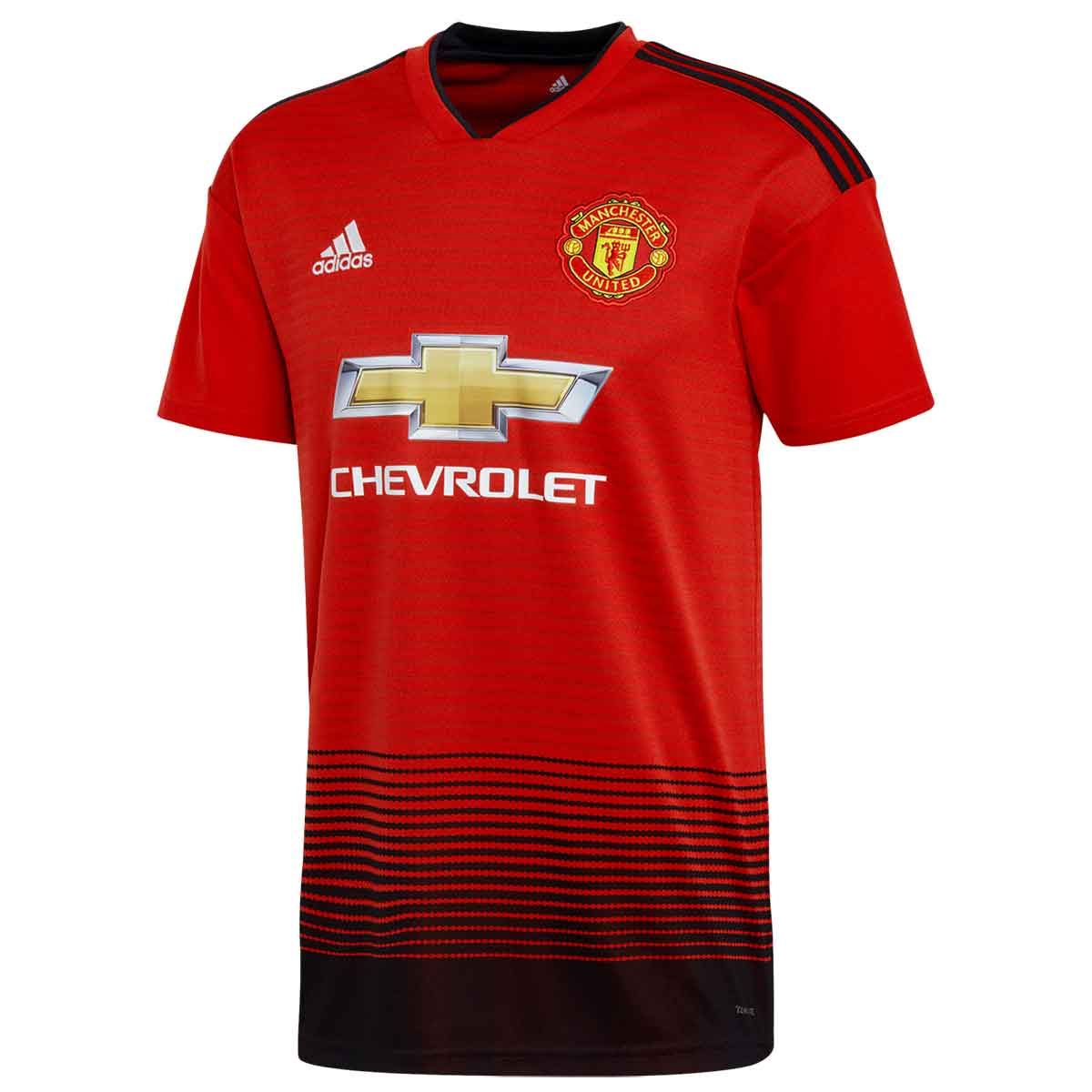 bd68a9ad Buy Adidas Manchester United Home T-Shirts (Red) Online at Lowest Price in  India