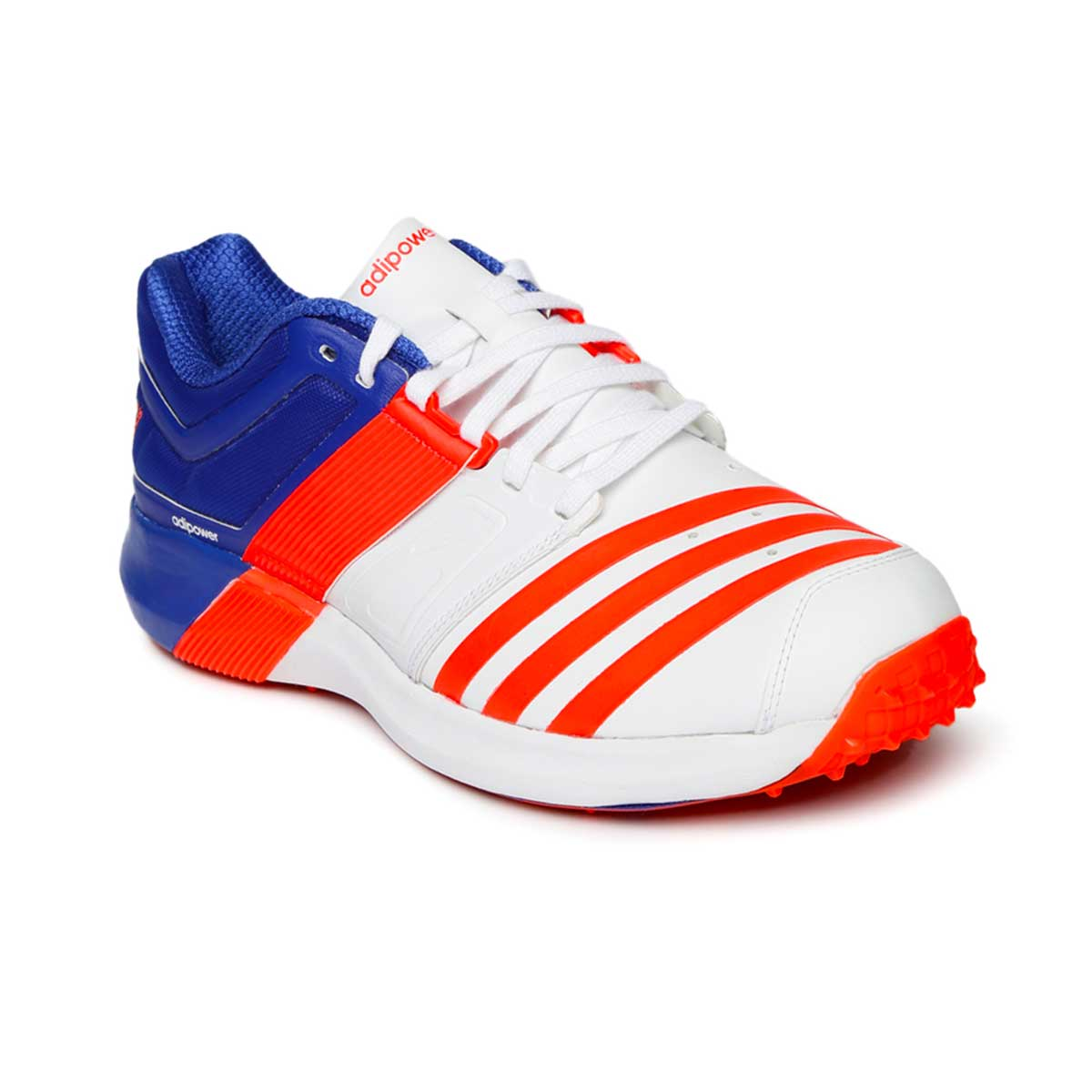 9a6b23c55c6d36 Buy Adidas AdiPower Vector Cricket Shoes (White Solred Blue) Online