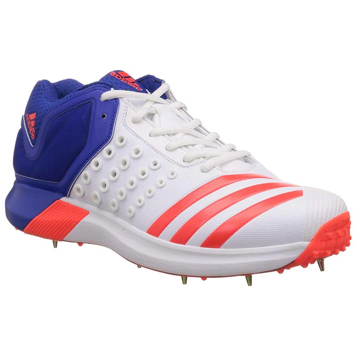 Adidas AdiPower Vector Cricket Shoes (WhiteSolredBlue)