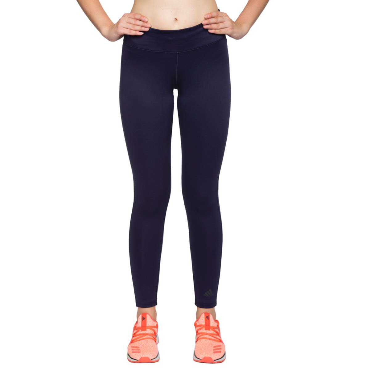 fd8a10a3942 Adidas D2M Womens Long Tights (Deep Blue) Online at Lowest Price in India