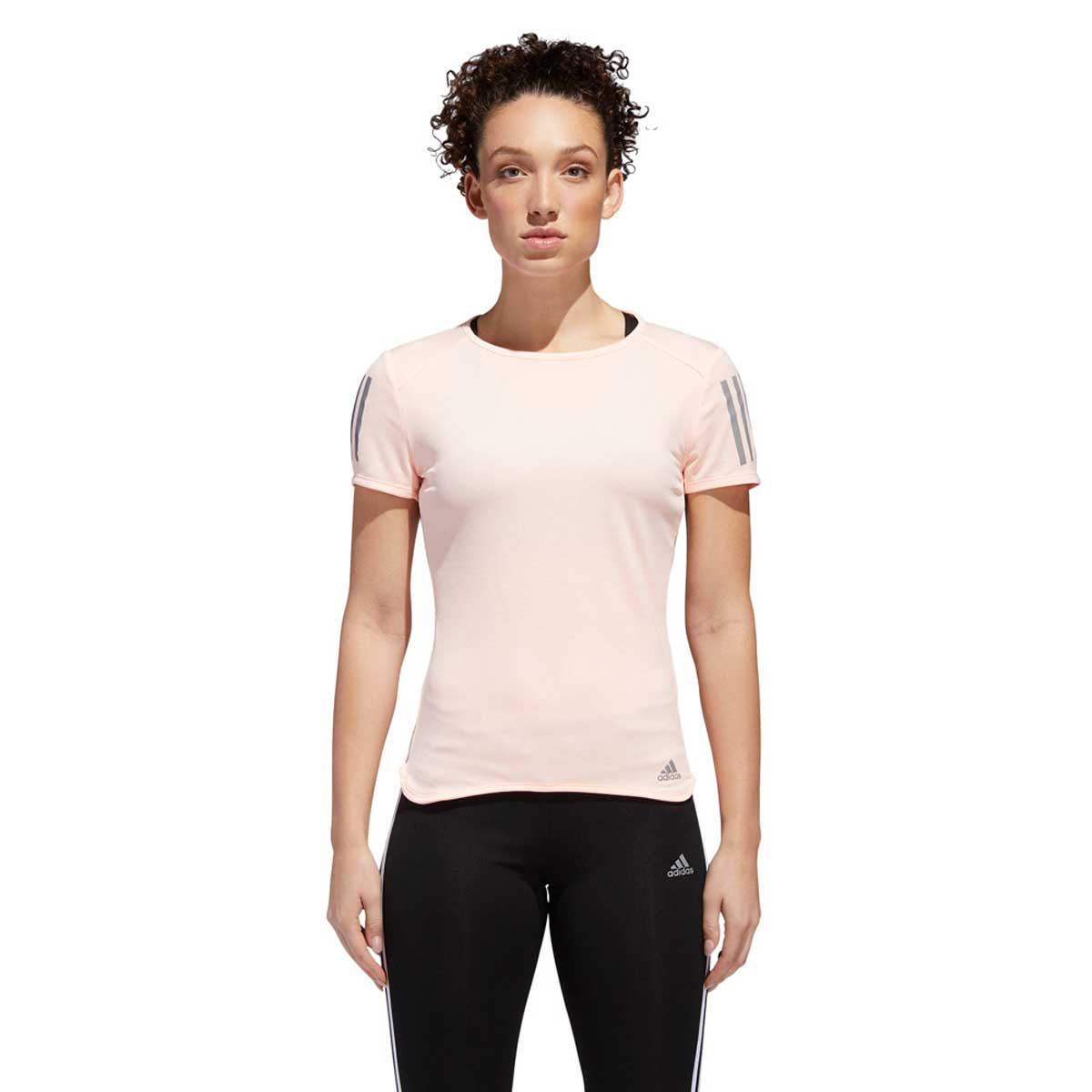 44a55ffb9 Buy Adidas Womens Round Neck T-Shirts (Cleora) Online at Lowest Price in  India