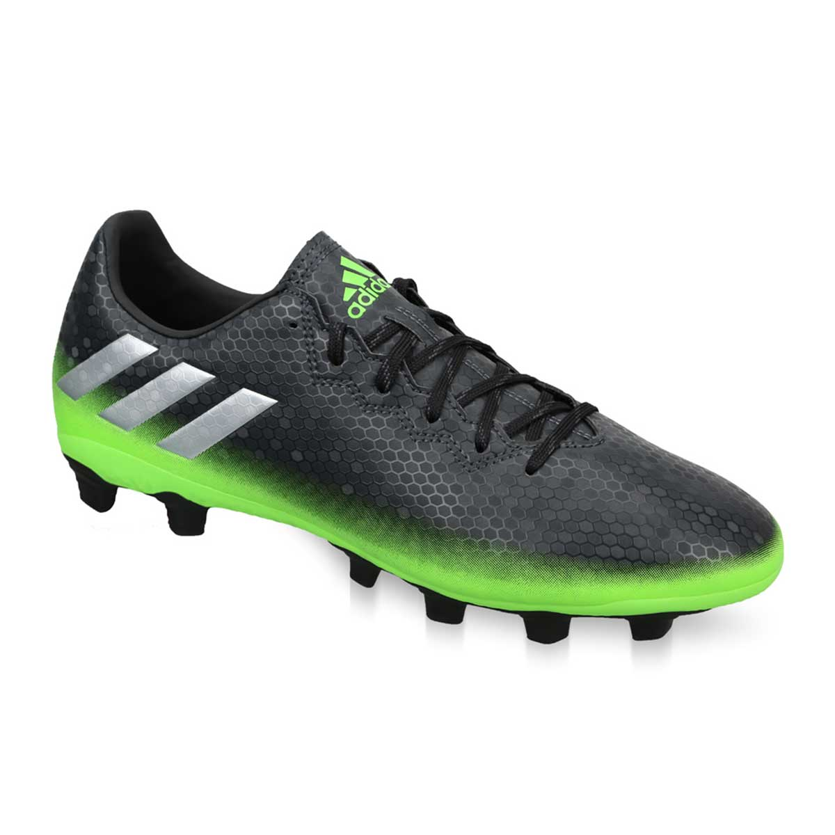b10b9f64da5 Buy Adidas Messi 16.4 FXG Football Shoes (Darkgrey Silver) Online