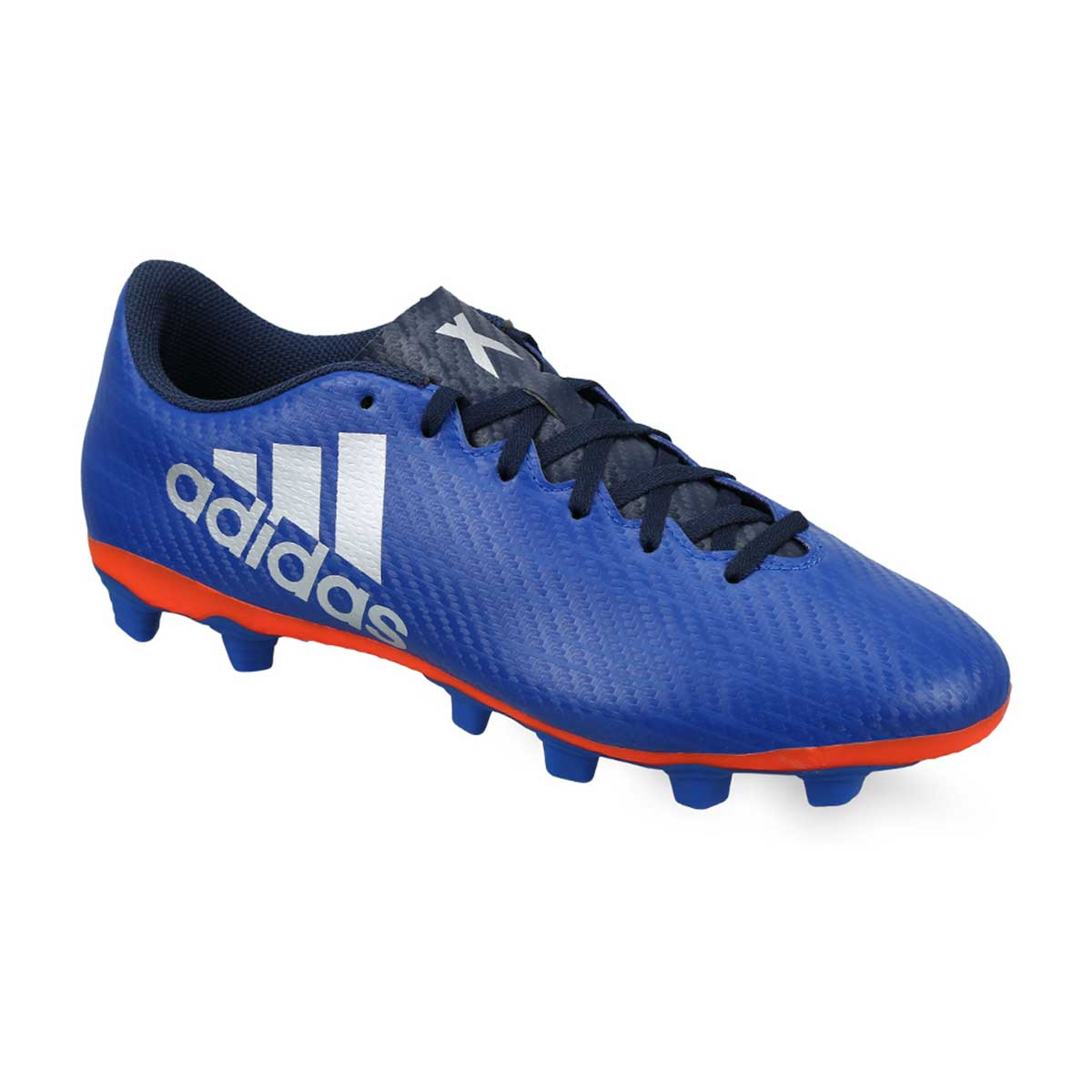 Buy Adidas X 16.4 FXG Football Shoes (Royal Silver Red) Online ad2598606419