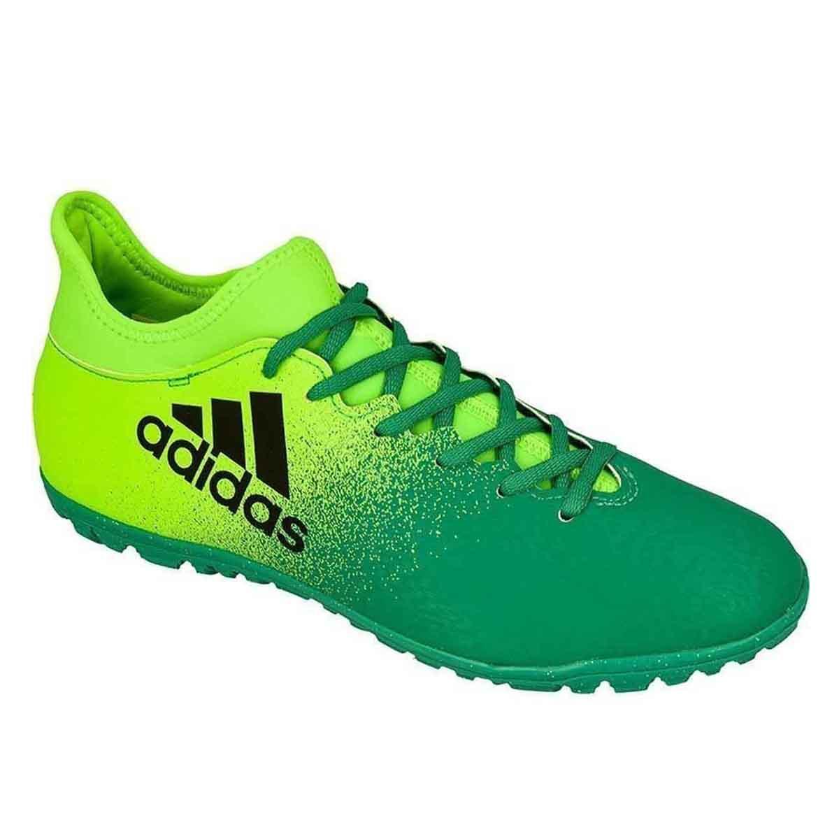 the best attitude f1e5a e95e7 Adidas X 16.3 Turf Football Shoes (Green)