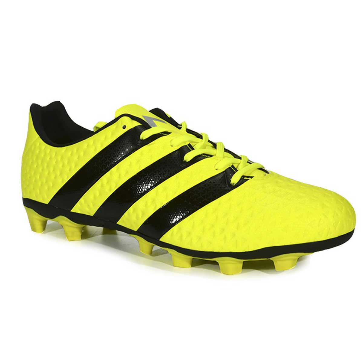 2d0baab87c8 Buy Adidas ACE 16.4 FXG Football Shoes (Yellow Black Silver) Online