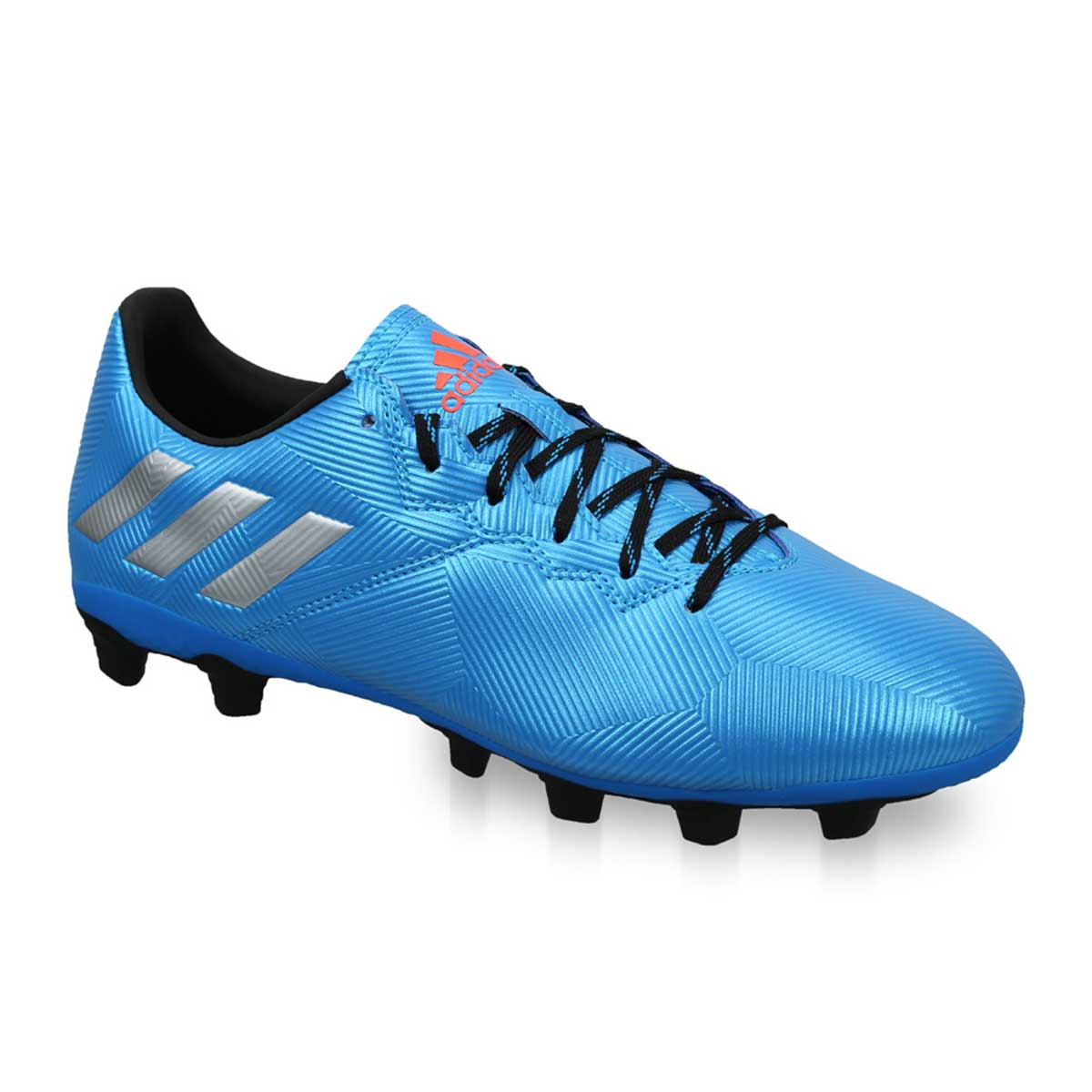 07c9c6fc418 Buy Adidas Messi 16.4 FXG Football Shoes (Blue Silver Black) Online