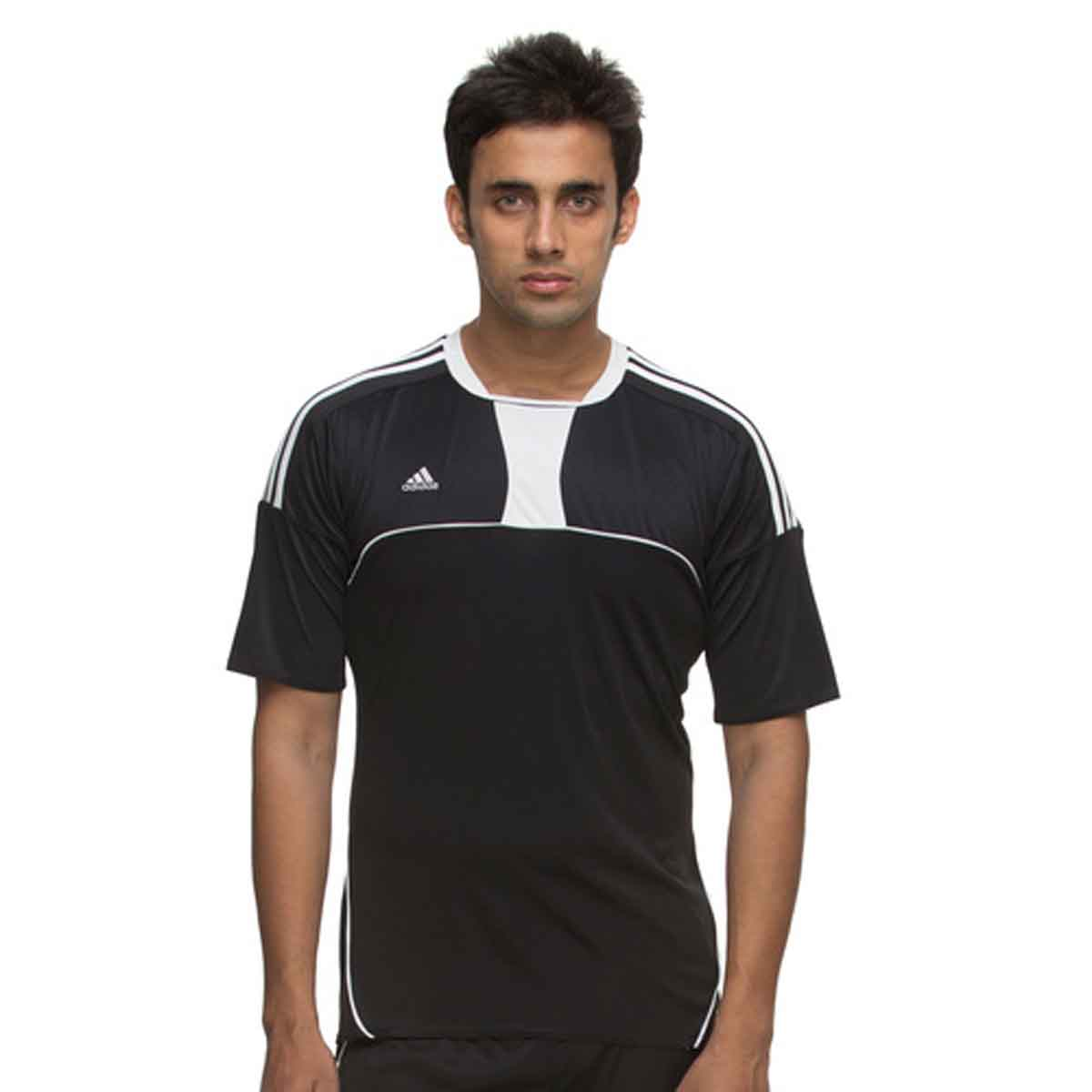 778e1106bd85 Buy Adidas Men's Football Pepa Jersey (Black) Online in India