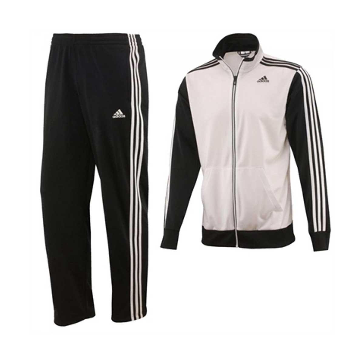 7884b4b4b Buy Adidas Mens Riberio Tracksuit (White/Black) Online India