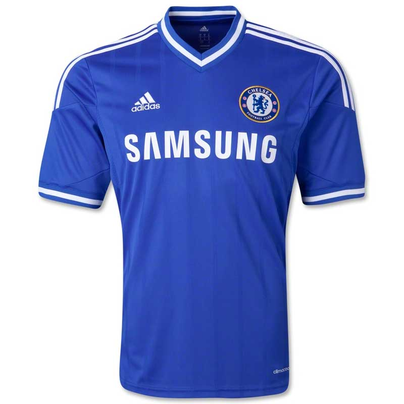 buy popular 07296 1594a Adidas Men's Chelsea Blue Jersey
