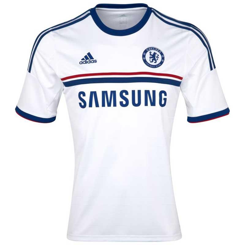 best service 78494 f1a40 Adidas Men's Chelsea White Jersey