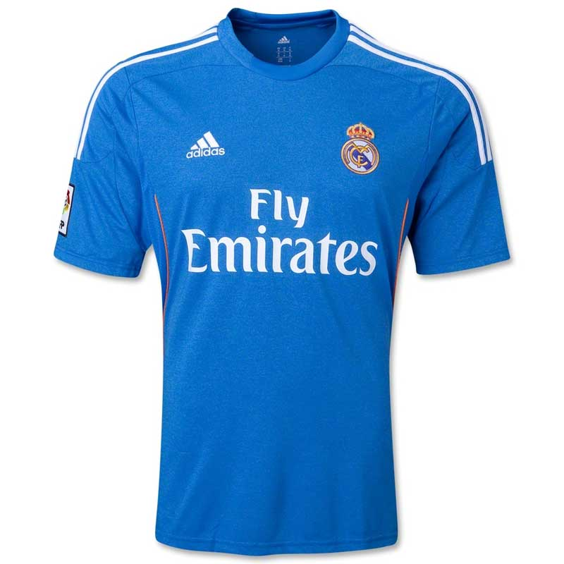 Buy Adidas Men s Real Madrid Blue Jersey Online in India 022ea4935551