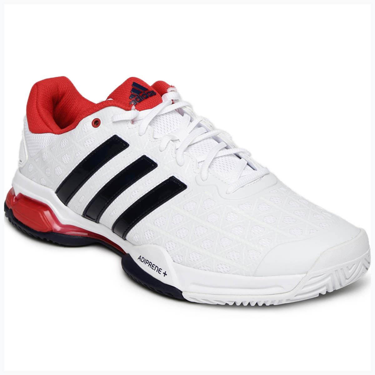 Buy Adidas Barricade Club Low Tennis Shoes (White Navy Red) Online 320061fc2
