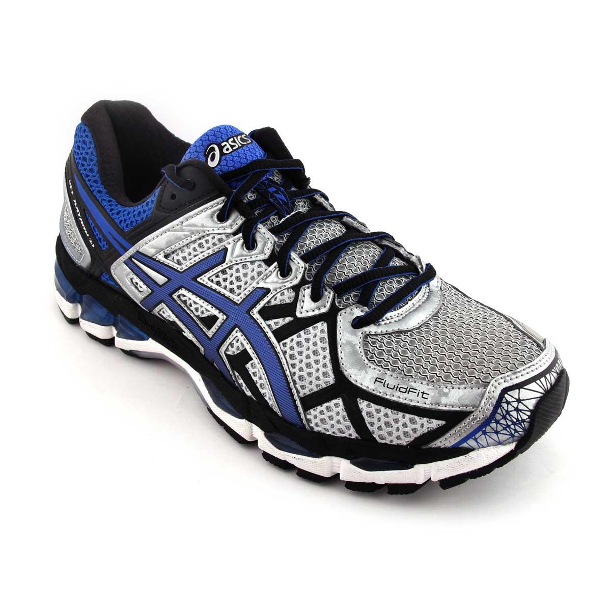 Asics Gel Kayano 21 Men's Running Shoes, Lightning Royal