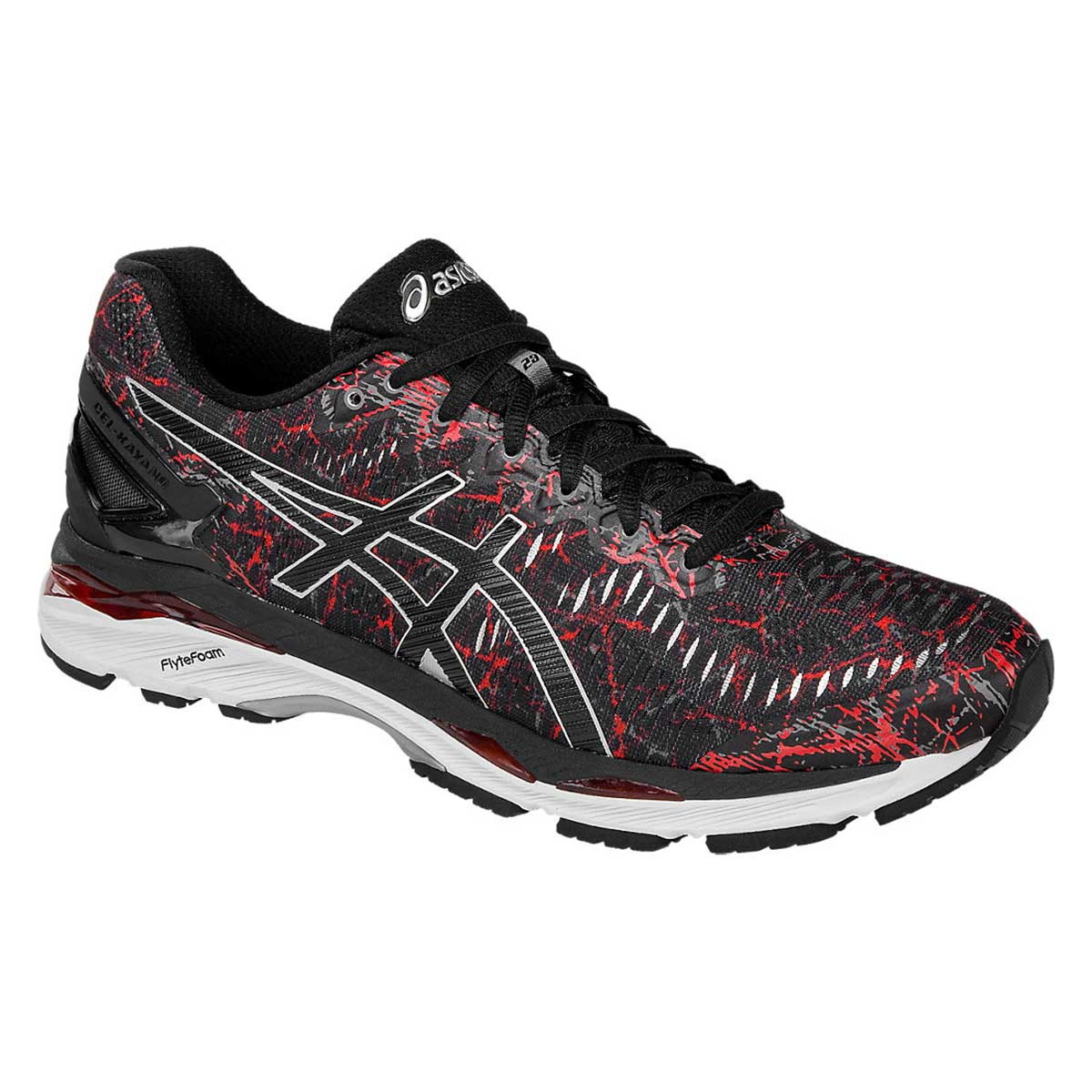 official photos 98539 74f6e Asics Gel-Kayano 23 Running Shoes (Vermilion/Black/Silver)