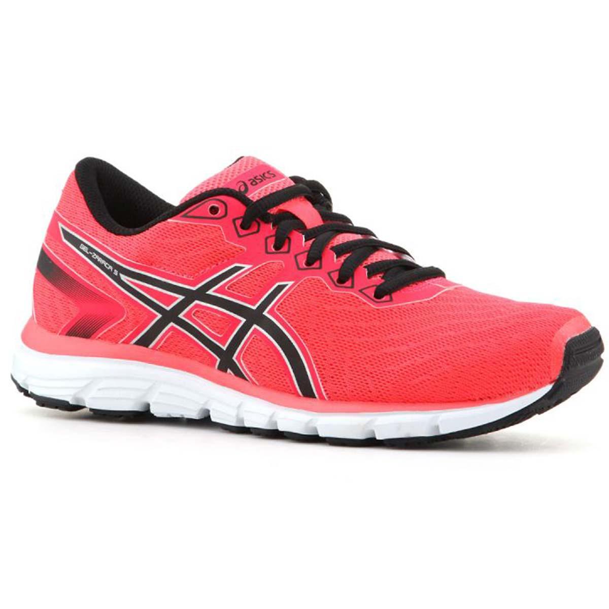 Asics Gel Zaraca 5 Womens Running Shoes (PinkBlackSilver)