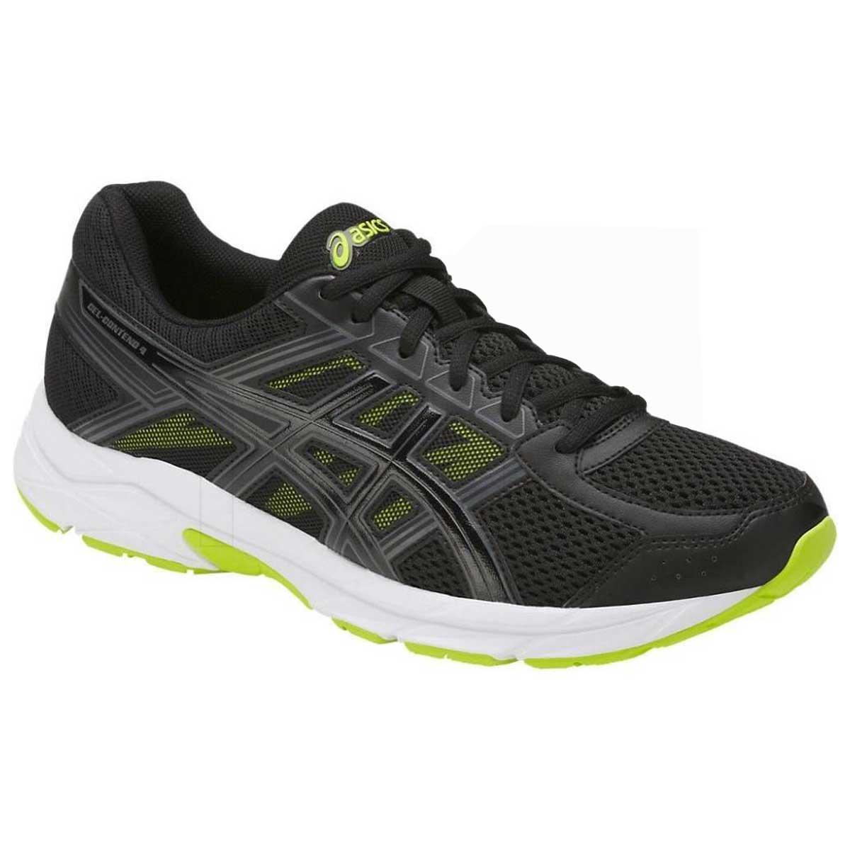 online retailer 3b5f0 c3a15 Asics Gel-Contend 4 Running Shoes (Black/Green)