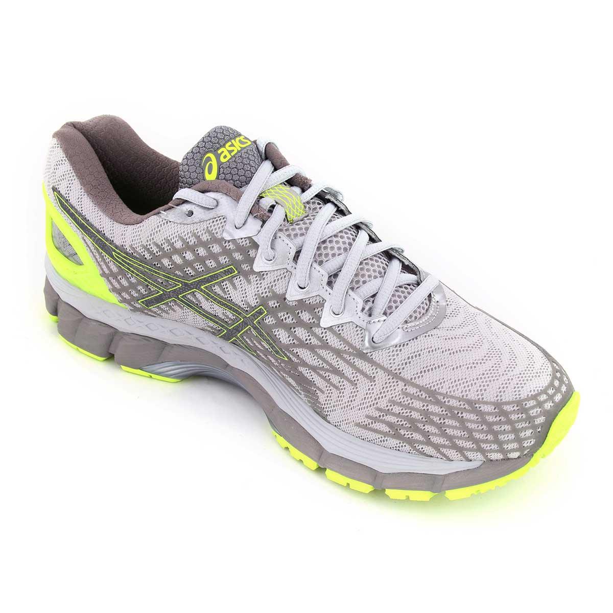 premium selection 2d6ce 7804c Asics Gel-Nimbus 17 Lite Show Running Shoes (Yellow/Silver/Black)