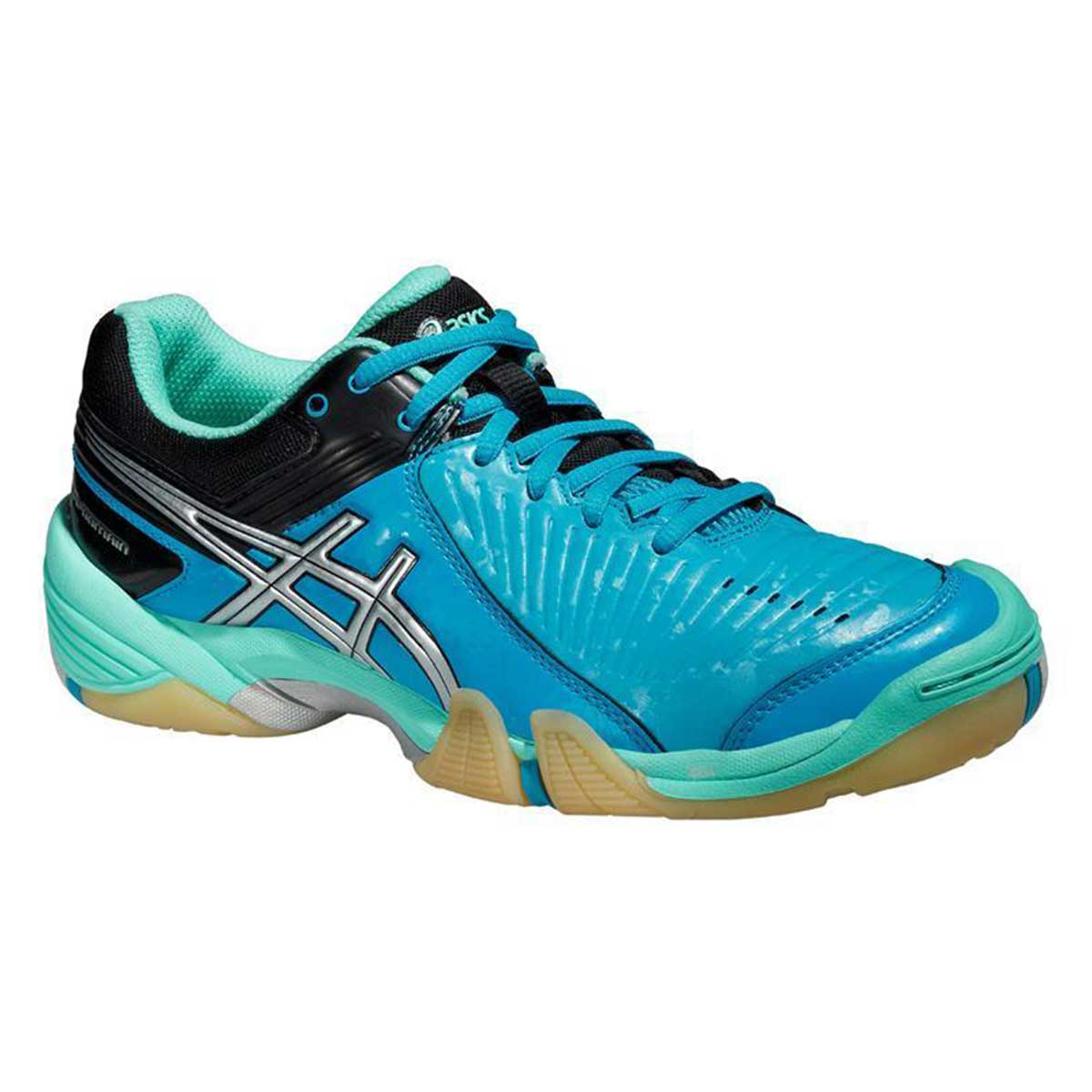 Asics Gel Domain Women's Court Shoes (Aqua MintSilverElectric)