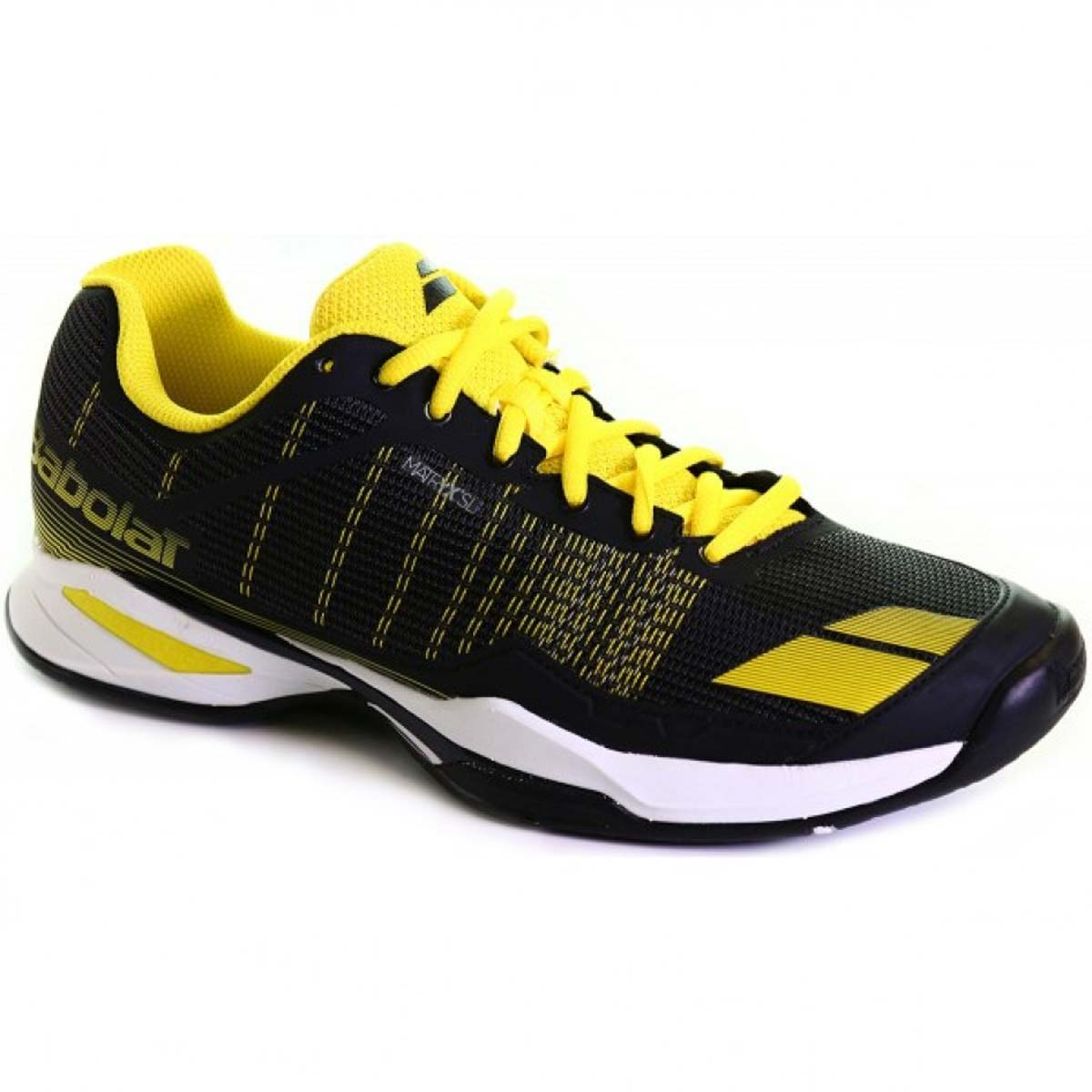 ef04b5f0792c4 Babolat Jet Team All Court Mens Tennis Shoes (Black/Yellow)