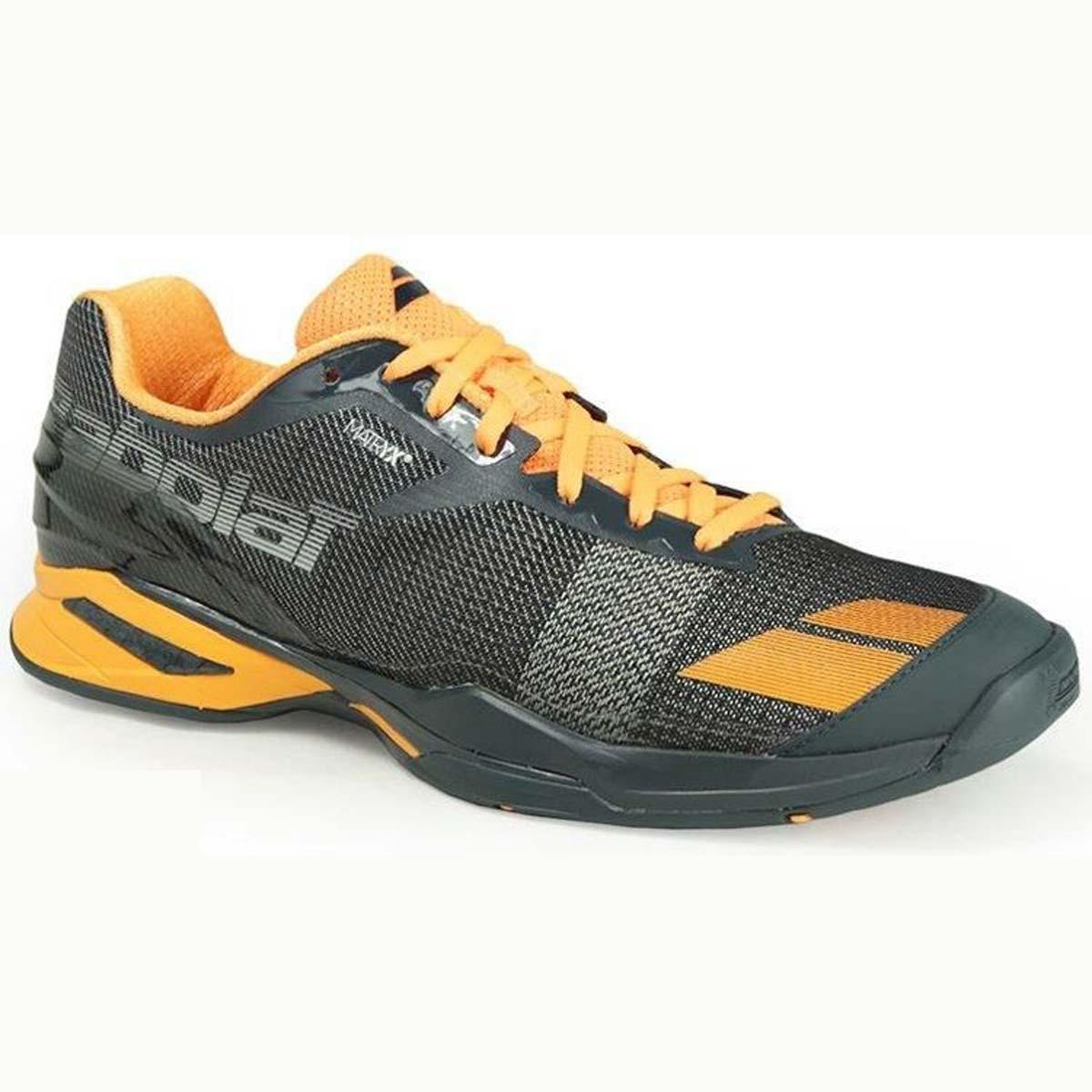 meet 87a09 9036d Babolat Jet All Court Mens Tennis Shoes(GreyOrange