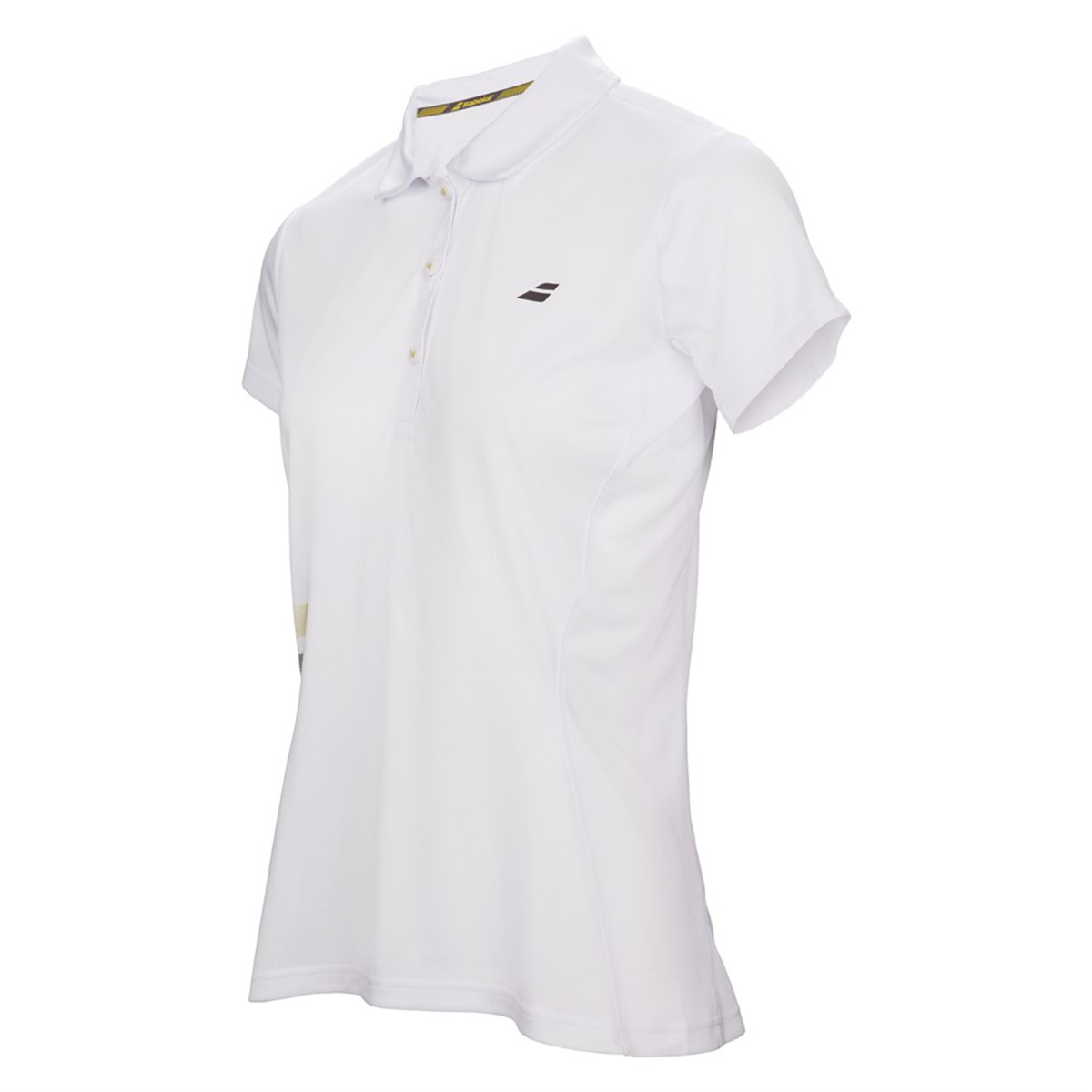97d55a43d1 Buy Babolat Core Club Womens Polo T-Shirts (3WS17021, White) Online India