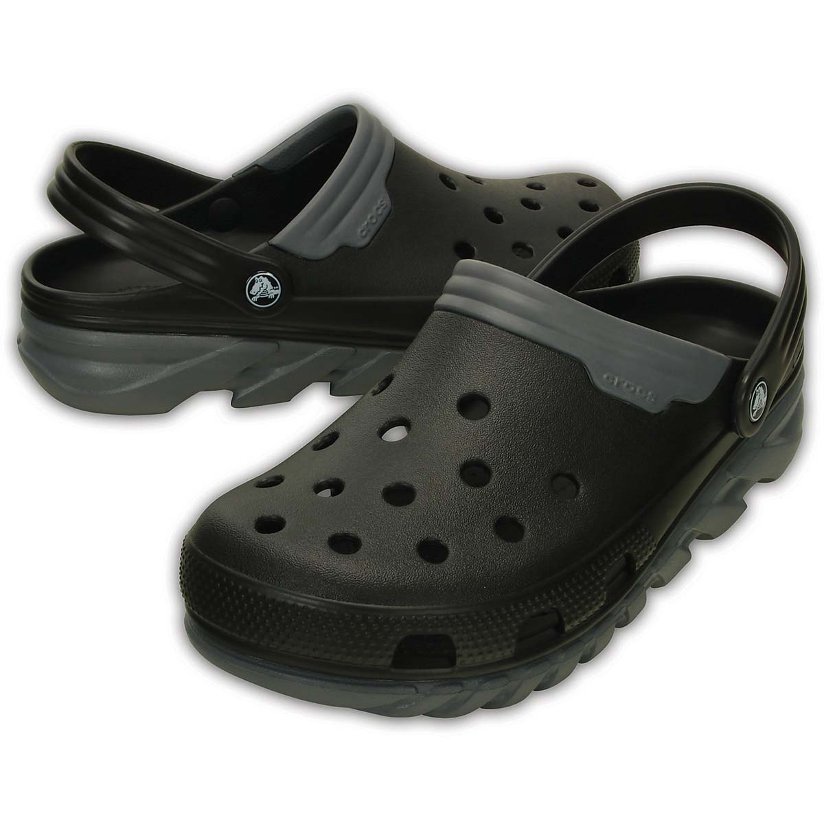 51be0e168d7ac Buy Crocs Duet Max Clog (Black Charcoal) Online at Lowest Price in India